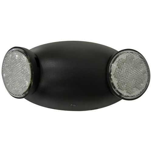 Round Head LED Emergency Light High Output Remote Capable Black