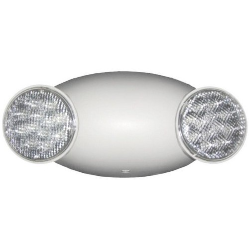 Round Head LED Emergency Light White