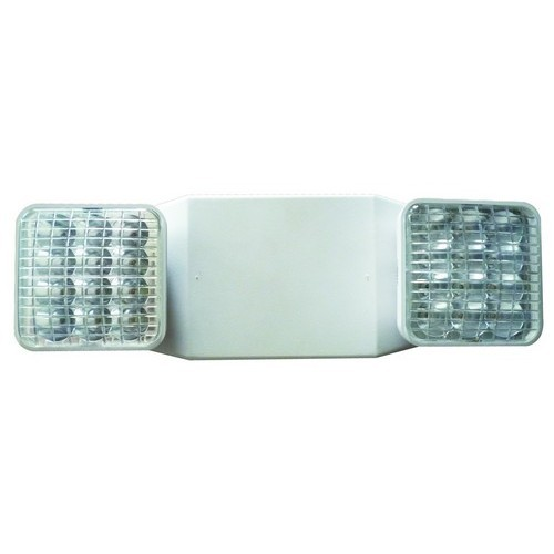 Square Head LED Emergency Light High Output White