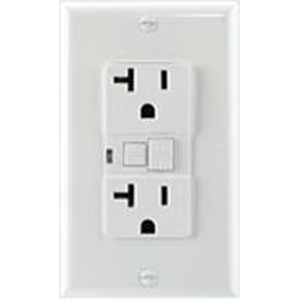 Morris Ground Fault Circuit Interrupter with Wallplate, 15A, Light Almond at Sears.com