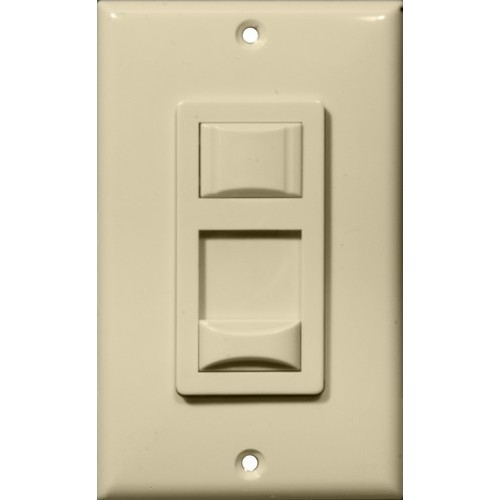 LED & Fluorescent Dimmer Ivory 3-Way