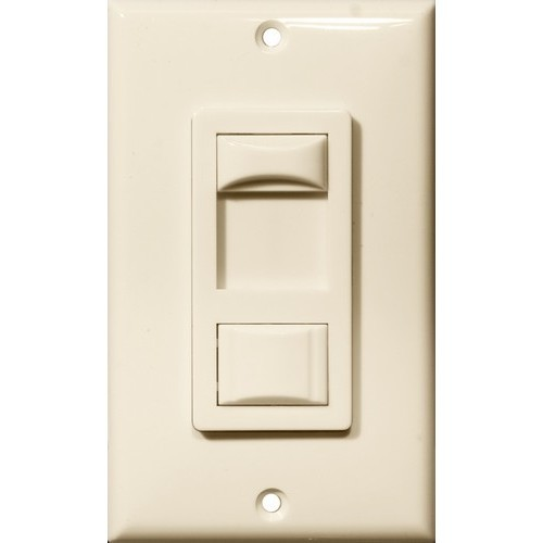 LED & Fluorescent Dimmer Almond 3-Way