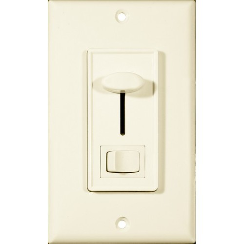 Slide Dimmer With Switch Almond 3-Way
