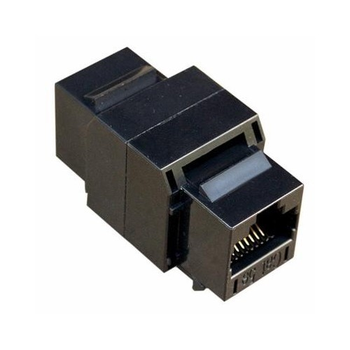 Cat5E UTP Coupler Black