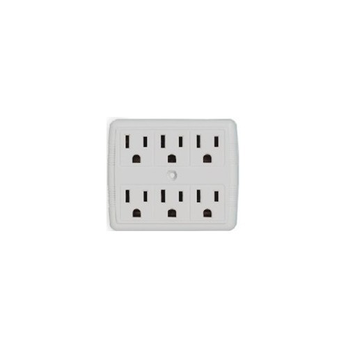 6 Outlet Power Adaptor