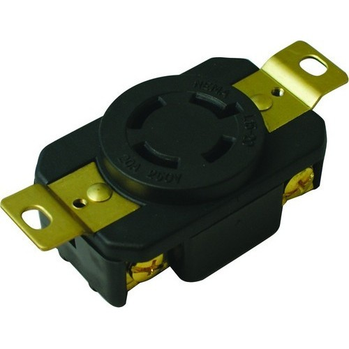 Locking Receptacles 3 Pole 4 Wire  20A 250V