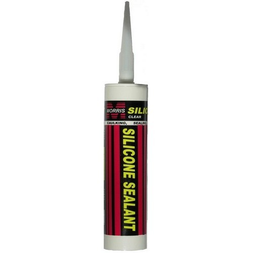 Morris Products Silicone Sealant Clear