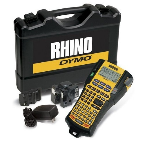 DYMO Rhino Industrial 5200 Series Hand Held Printer Kit