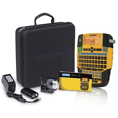 DYMO Rhino Industrial 4200 Series Hand Held Printer Kit