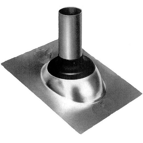 "1-1/4 to 1-1/2"" Galvanized Self-Seal Roof Flashing"