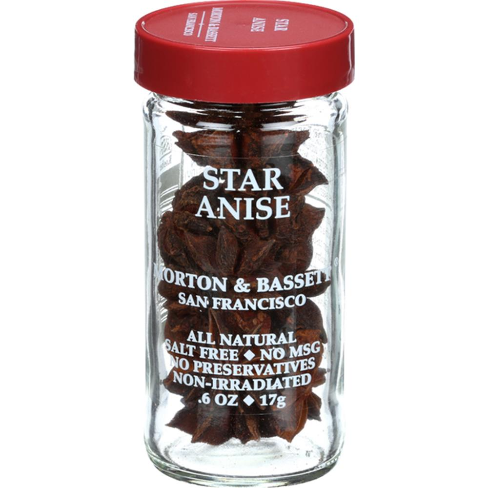 Morton & Bassett - Star Anise Seasoning ( 3 - .6 OZ)