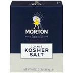 Sesoning Crse Ksher Salt ( 12 - 48 OZ )