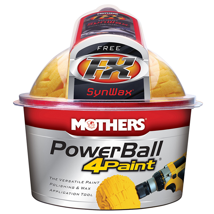 * POWERBALL 4-PAINT KIT