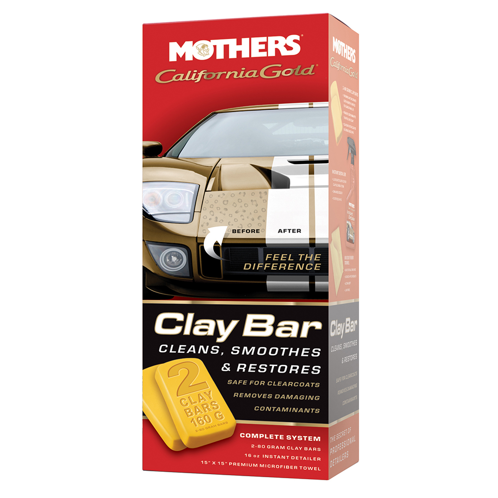 CALIF GOLD CLAY BAR SYSTEM KIT