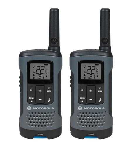2 Pack FRS 20 Mile Range Gray Radios