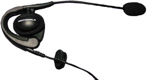MOTOROLA 56320 2-Way Radio Accessory (Earpiece with Boom Microphone for Talkabout 2-Way Radios)
