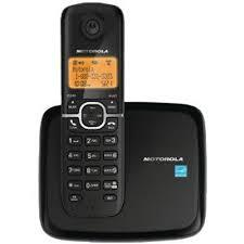 Motorola L601 Dect 6.0 Caller ID Cordless Speakerphone Expandable Up To 5 Handsets