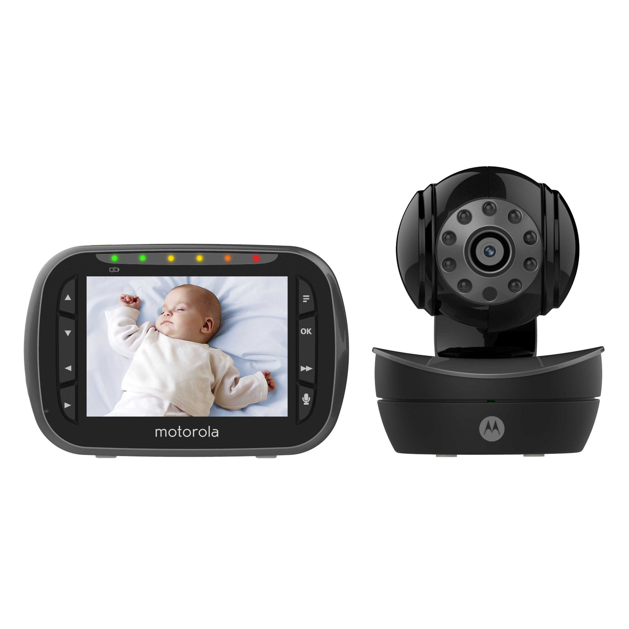 Motorola Remote Wireless Two-Way Communication Video Baby Monitor - Brown Box