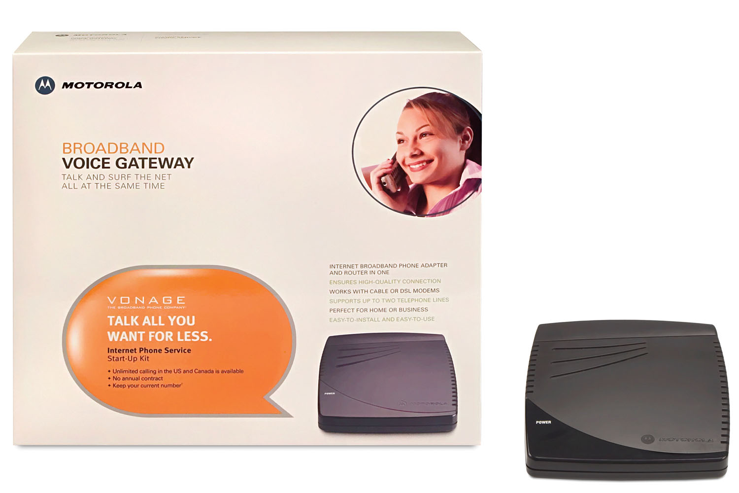Motorola Broadband Voice Gateway (Vonage)
