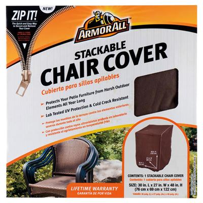 Stacking Chair Cover 30x27x48