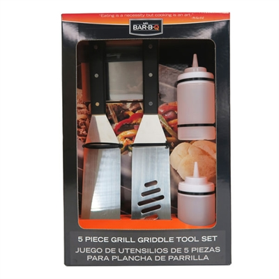 Mr BBQ Griddle Set 5pc