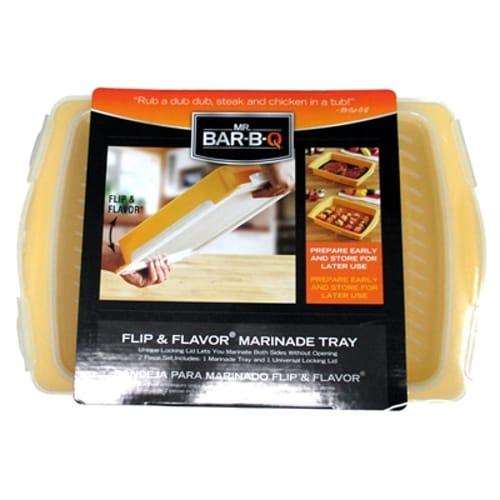 Flip and Flavor Marinade Tray