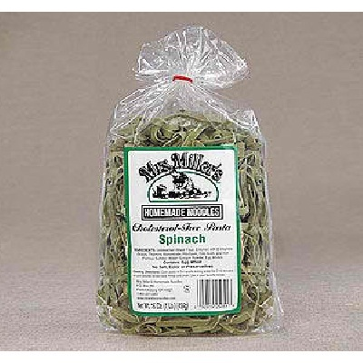 Mrs Millers Spinach Noodles (6x14OZ )