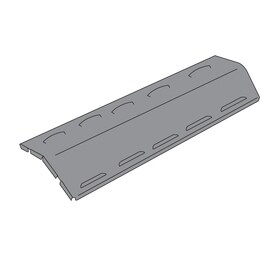 Porcelain steel heat plate for Aussie brand gas grills