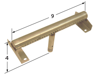 """stainless steel burner; Charbroil,Thermos; 8.125"""" x 3"""""""