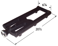 Cast iron burner for Kenmore, Turbo brand gas grills