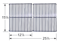 Porcelain steel channels cooking grid for Master Chef brand gas grills