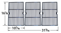 Gloss cast iron cooking grid for Jamie Oliver, Nexgrill, Presidents Choice, Shinerich, Sonoma brand gas grills