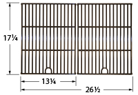 Gloss cast iron cooking grid for Grill Chef, Grill Master, Nexgrill brand gas grills