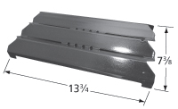 Porcelain steel heat plate for Charbroil, Members Mark brand gas grills