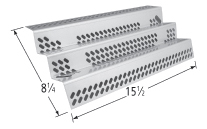 Porcelain steel heat plate for Amana, Surefire brand gas grills