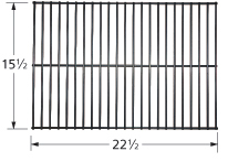 stainless steel heat plate; American Outdoor Grill,Dyna-Glo; 15.4375 x 10.625