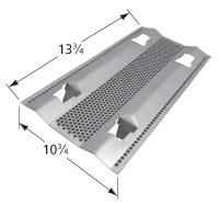 Porcelain steel heat plate for Dyna-Glo, Master Forge brand gas grills