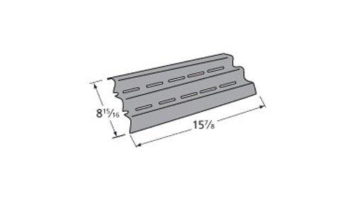 Porcelain steel heat plate for Broil King, Broil-Mate, Huntington, Sterling brand gas grills