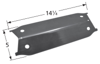 Porcelain steel heat plate for Backyard Grill, Uniflame brand gas grills