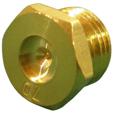 Brass valve for Arkla, Charbroil, Charmglow, Falcon, Kenmore, Sunbeam, Thermos, Vidalia brand gas grills