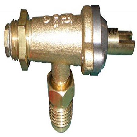 Brass valve for Coastal, Wilmington brand gas grills