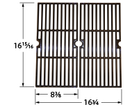 Matte cast iron cooking grid for Master Chef brand gas grills