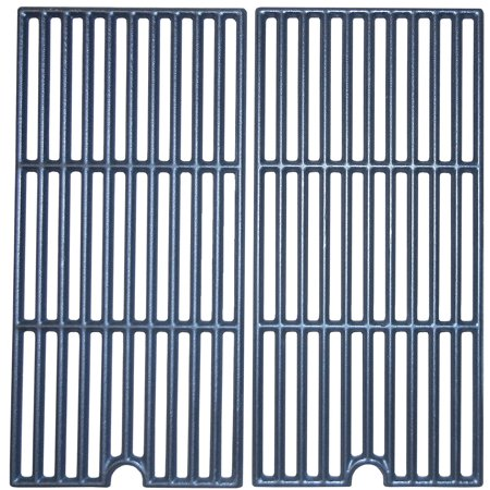 Matte cast iron cooking grid for Coleman brand gas grills