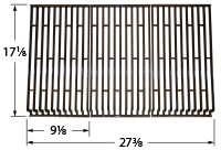 Matte cast iron cooking grid for Coleman, Cuisinart brand gas grills