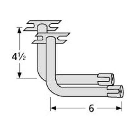 L-shaped venturi pair