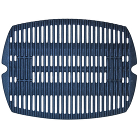 matte cast iron cooking grid; Weber; 12.5625 x 16.8125