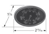 Heat indicator for Vidalia brand gas grills