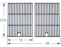 Matte cast iron cooking grid for Napoleon brand gas grills