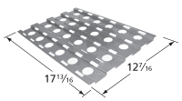 Porcelain steel heat plate for Dyna-Glo brand gas grills