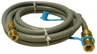 LP regulator with two hoses for Straubelstone gas grills with side burners